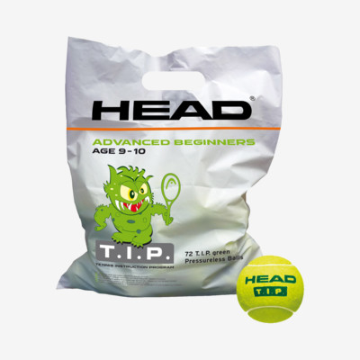 Product overview - HEAD T.I.P. Green - 72 Balls
