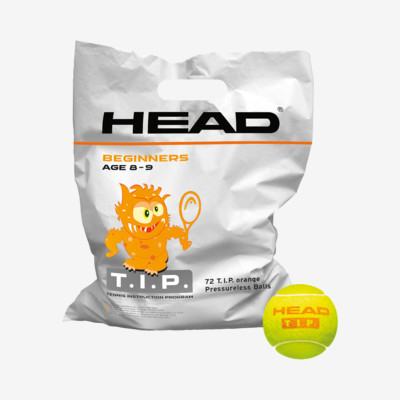 Product overview - HEAD T.I.P. Orange - 72 Balls