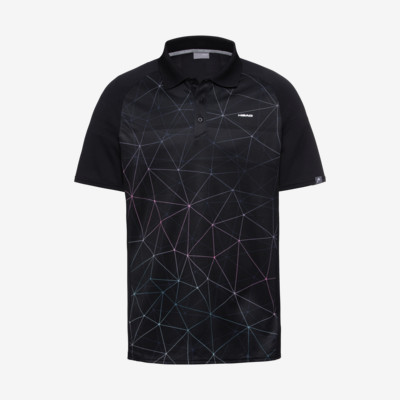 Product overview - PERF Polo Shirt M triangle black