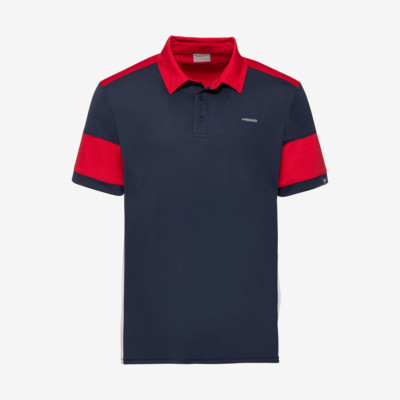 Product overview - ACE Polo Shirt M dark blue/red