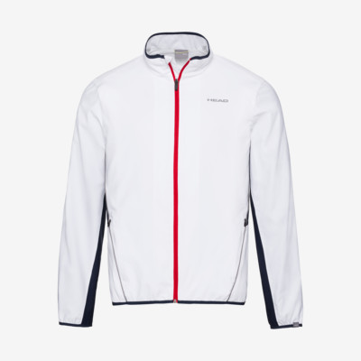 Product overview - CLUB Jacket M white/dress blue