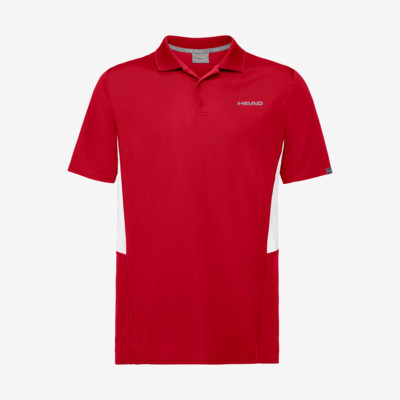 Product overview - CLUB Tech Polo Shirt M red