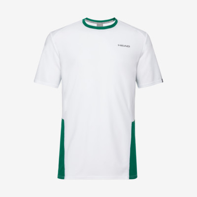 Product overview - CLUB Tech T-Shirt M white/green