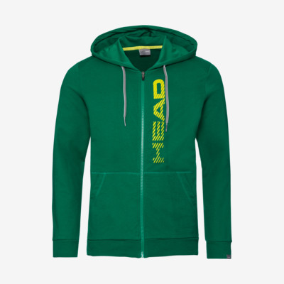 Product overview - CLUB FYNN Hoodie FZ Men green/yellow