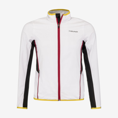 Product overview - DTB CLUB Jacket M white/yellow
