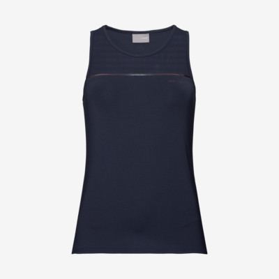 Product overview - PERF Tank Top W dark blue