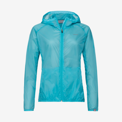 Product overview - ELITE Lightweight Jacket W aqua