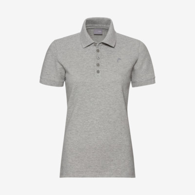 Product overview - HEAD Polo W grey melange