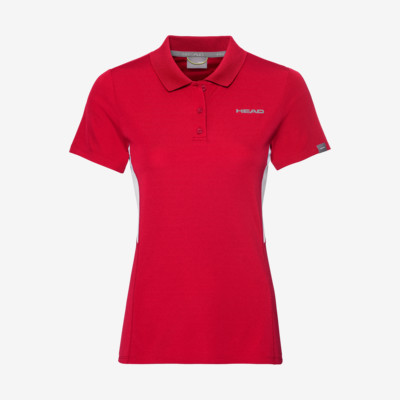 Product overview - CLUB Tech Polo Shirt W red