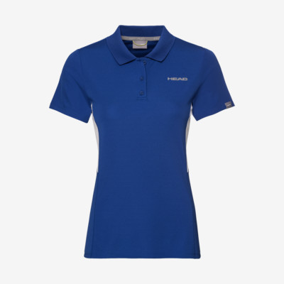 Product overview - CLUB Tech Polo Shirt W royal blue