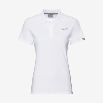 Product overview - CLUB Tech Polo Shirt W white