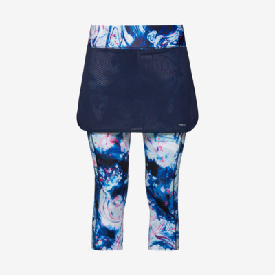 Product overview - SMASH 3/4 Tights Skort W dark blue/caleido royal