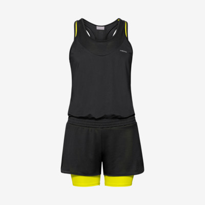 Product overview - MATCH Romper W black/yellow