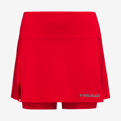 Product overview - CLUB Basic Skort W red