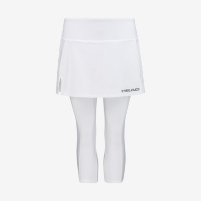 Product overview - CLUB 3/4 Tights Skort W white