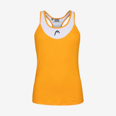 Product overview - TENLEY Tank Top Women orange/white