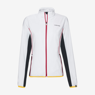 Product overview - DTB CLUB Jacket W white/yellow