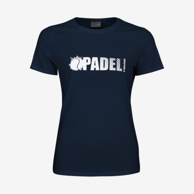 Product overview - PADEL FONT T-Shirt Women dark blue