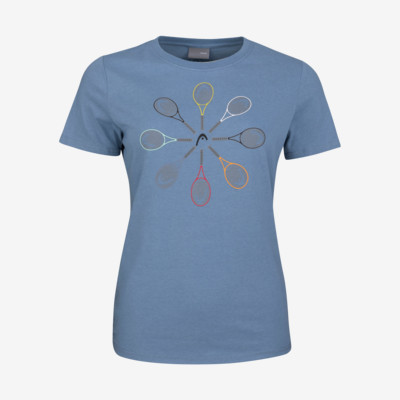 Product overview - RACQUET T-Shirt Girls infinity blue
