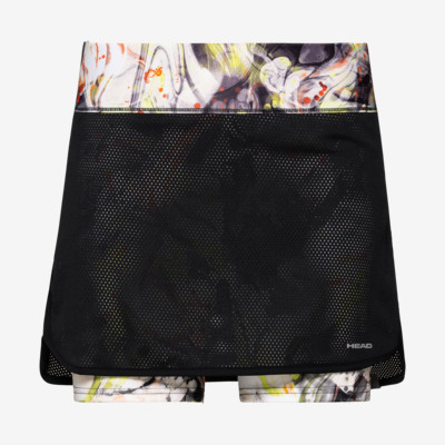 Product overview - SMASH Skort G black/caleido grey