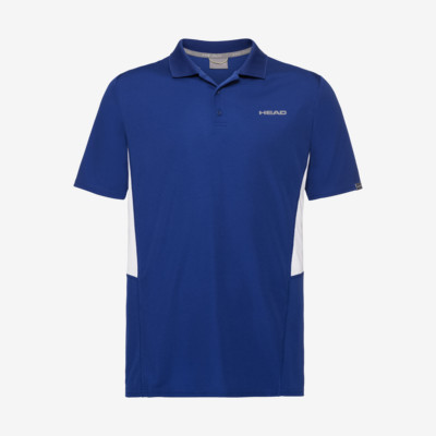 Product overview - CLUB Tech Polo Shirt B royal blue