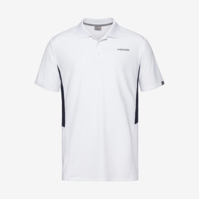 Product overview - CLUB Tech Polo Shirt B white/dress blue