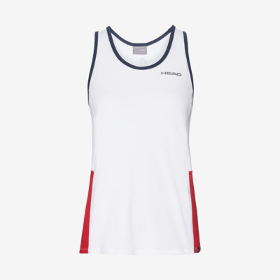 Product overview - CLUB Tank Top G white/red