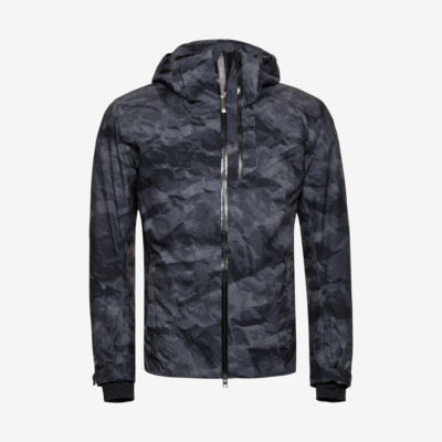 Product overview - STORM Jacket Men crincle camo black