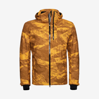 Product overview - STORM Jacket Men crincle camo yellow