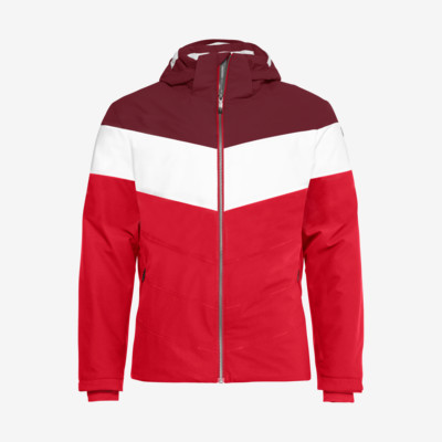 Product overview - POWDER Jacket Men red/burgundy