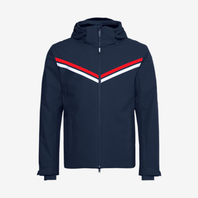 Product overview - DRIFT Jacket Men dark blue/red