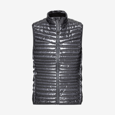 Product overview - PRIMO Vest Men metallic iron gate