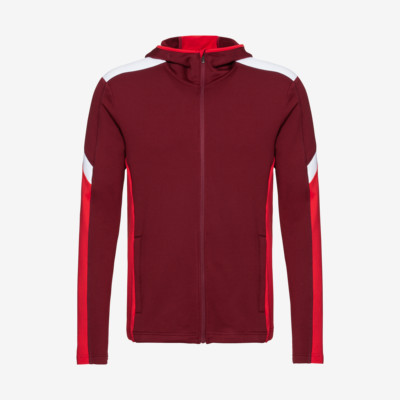 Product overview - LOGAN Midlayer FZ Men burgundy/red