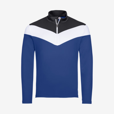 Product overview - STEVEN Midlayer Men royal/black
