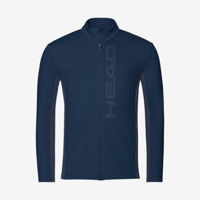 Product overview - ANTON Midlayer FZ Men dark blue