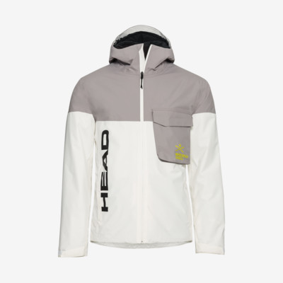 Product overview - RACE NOVA Jacket Men white/anthracite