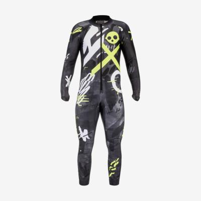 Product overview - RACE FIS Suit Men unpadded black/yellow race