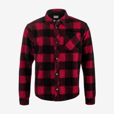 Product overview - REBELS Shirt Men red/black