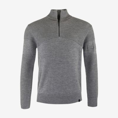 Product overview - LYRIC Pullover Men grey melange