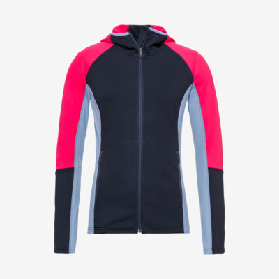 Product overview - LAYLA Midlayer FZ Women dark blue/pink
