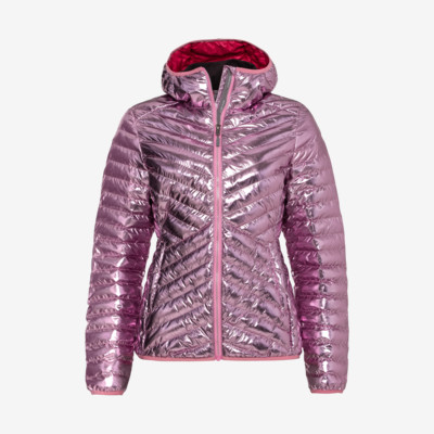 Product overview - PRIMA Hooded Jacket Women metallic pink