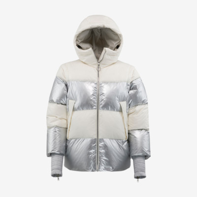 Product overview - TIFFANY Jacket Women ivory/metallic silver
