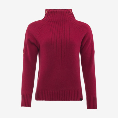 Product overview - AMBER Pullover Women chilli
