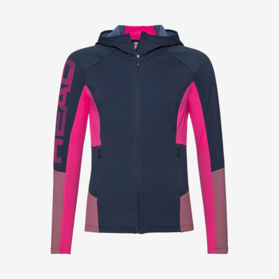 Product overview - MADELYN Midlayer FZ W dark blue/pink