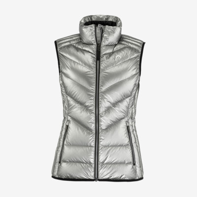 Product overview - GRACE Vest Women metallic silver