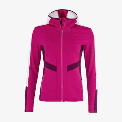 Product overview - JASMINE Midlayer FZ Women pink/white