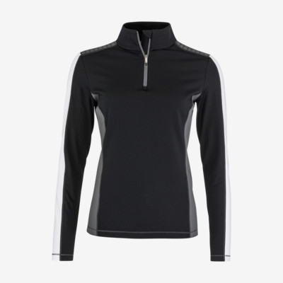 Product overview - ASTER Midlayer Women black/white