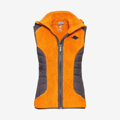 Product overview - REBELS Vest Women orange/anthracite