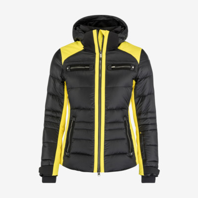 Product overview - REBELS SUN Jacket Women black/lime