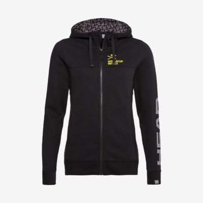 Product overview - RACE Hoodie FZ Women black